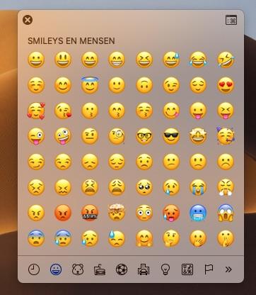 zzp worden tools mac hacks emoji symbolen