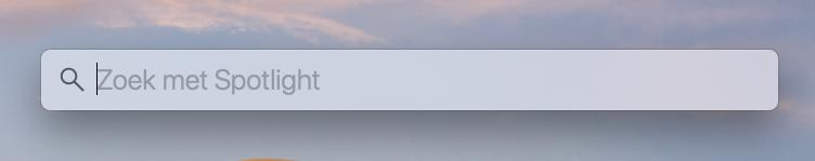 zzp worden tools mac hacks spotlight zoeken
